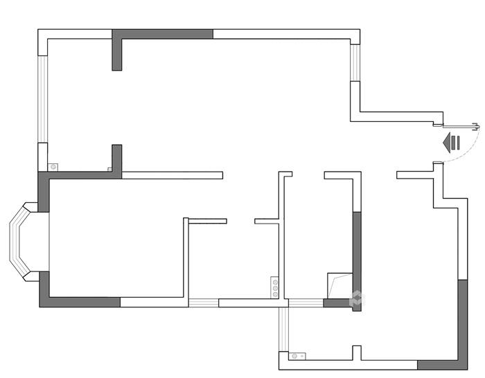 74平米的二手房这么一改造,颜控都心动了-业主需求