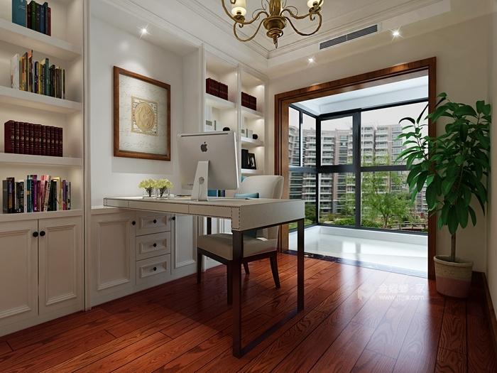 202平米的品质美式家,三代同堂才更有爱-书房