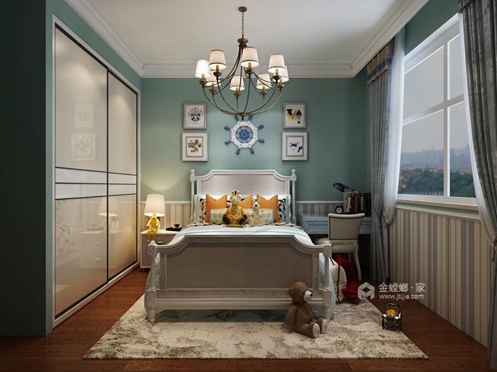 202平米的品质美式家,三代同堂才更有爱-儿童房