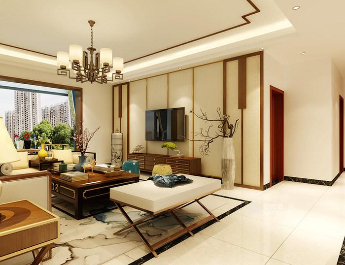 新中式风格的现代生活家-