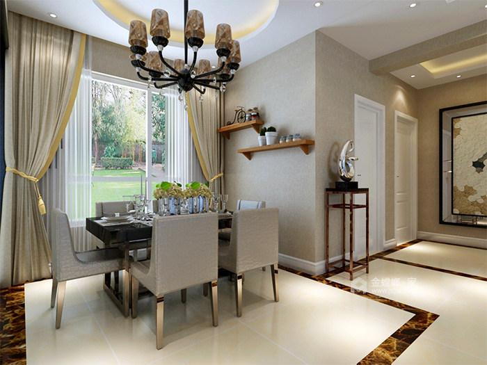 126平现代风格,工业风与精致生活家-餐厅