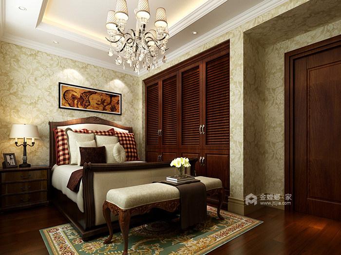 360平米的迷人美式情调-卧室