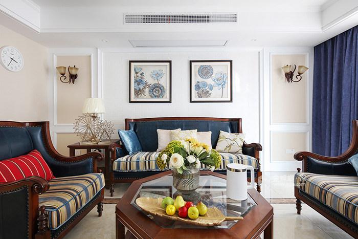 喜欢简朴美式风格的,一定不能错过-客厅