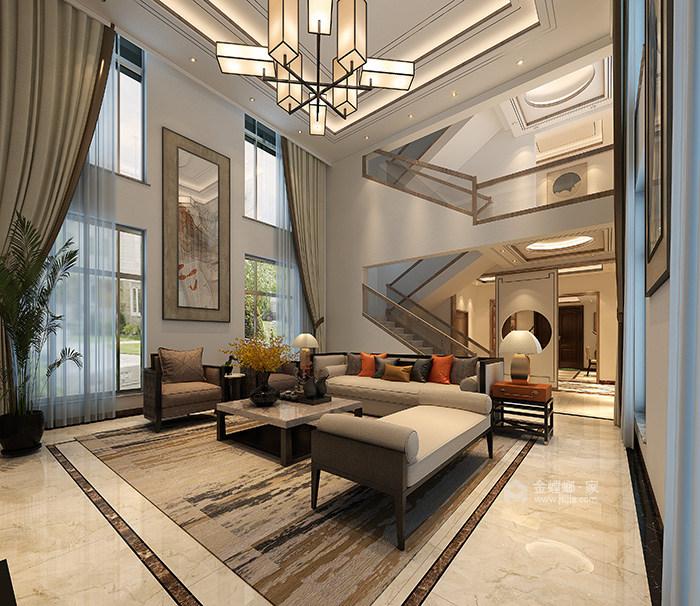 用新的设计语言定义的家-客厅