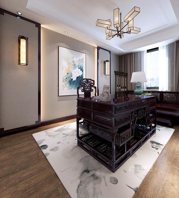 新中式风格传承古典生活艺术-书房