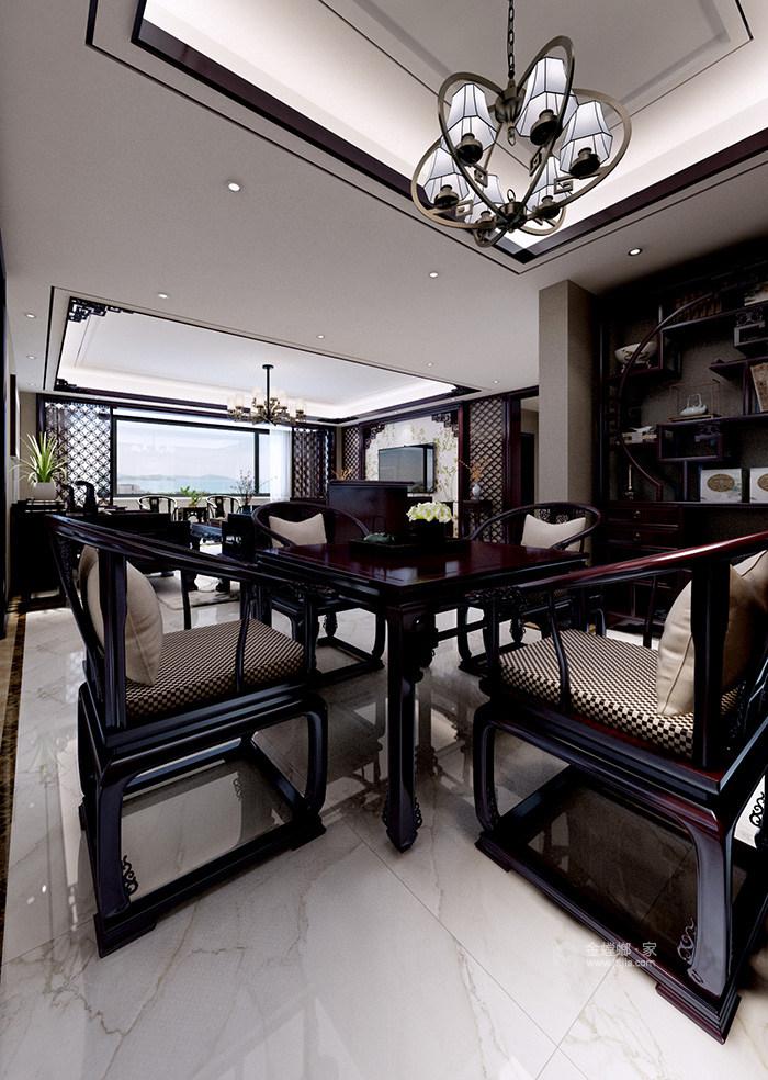 新中式风格传承古典生活艺术-客厅