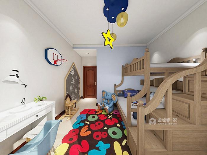 家有俩娃照样整洁美貌,看看他的收纳秘诀-儿童房