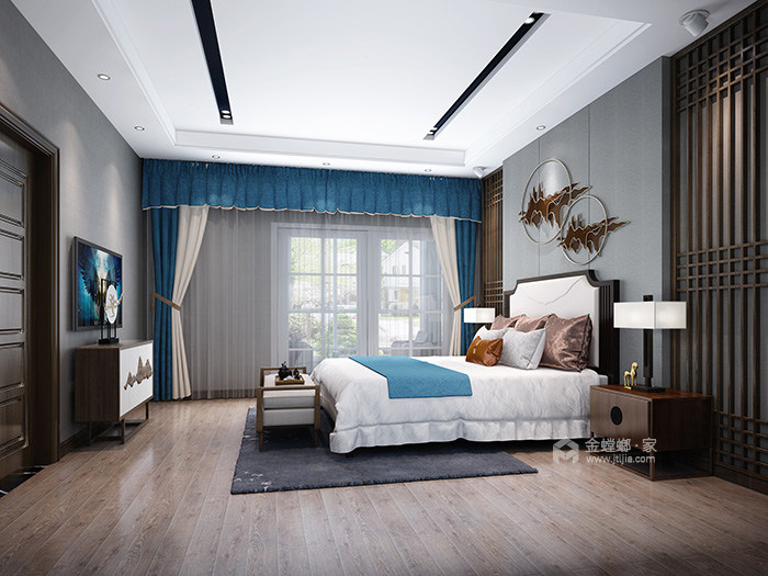 传统和现代的新定义-卧室