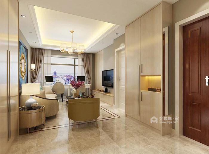 精致的轻奢现代生活-客厅