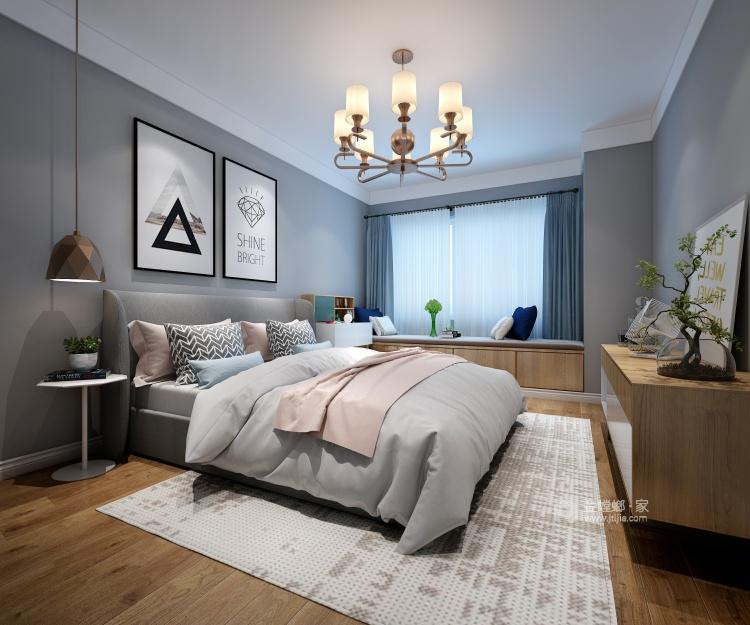 莫兰迪色系下的北欧风-卧室