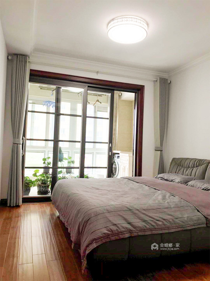 看看复式如何打造新中式-卧室