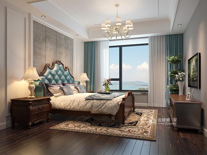 140㎡简美风格家,用简约打动你的心-卧室