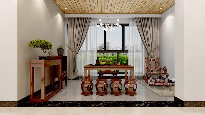 米色系理想生活之家-茶室