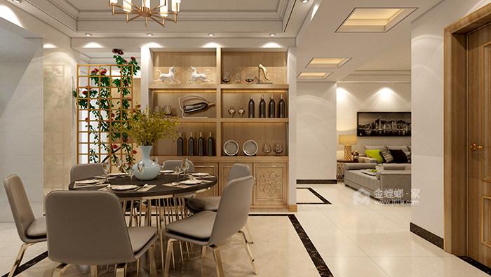 米色系理想生活之家-餐厅