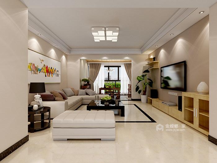 米色系理想生活之家-客厅