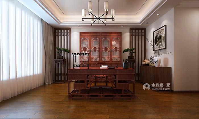 146平米新中式特有的禅意与灵境的质感-卧室