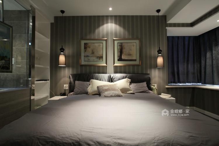 古韵犹存又新意焕然的禅意空间-卧室效果图及设计说明