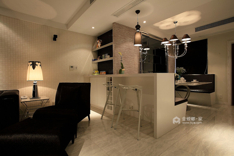古韵犹存又新意焕然的禅意空间-餐厅效果图及设计说明
