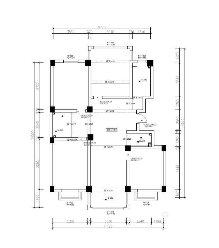 165平新中式风格大宅,素雅简洁-业主需求