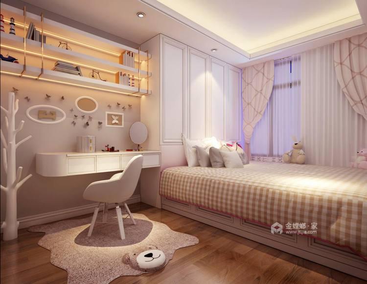 128平新中式空间透亮,温润如玉,沉稳之美!-儿童房