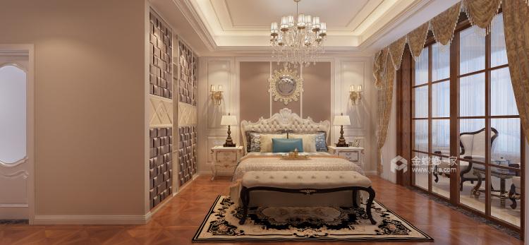 260平欧式装修,浪漫的格调-卧室效果图及设计说明
