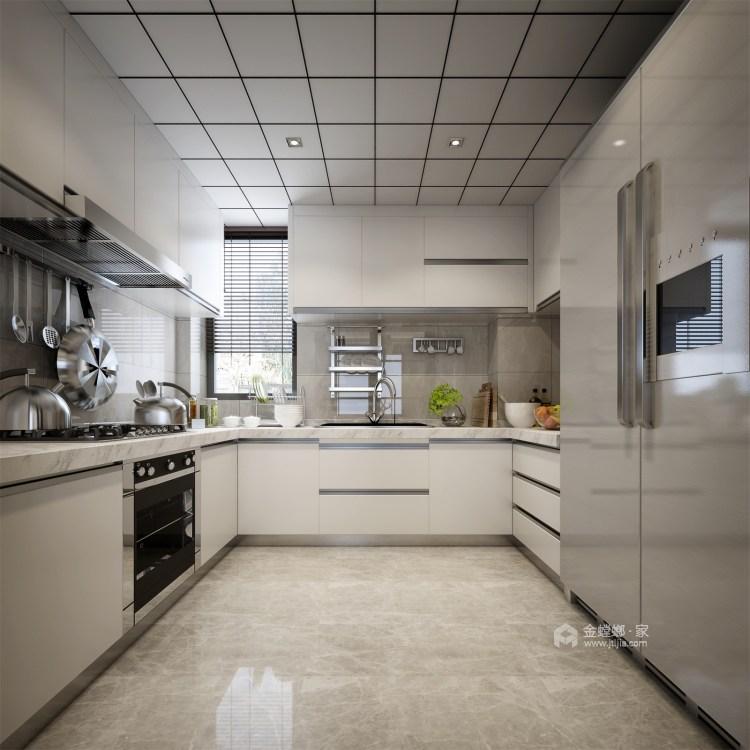 简单的新中式也可以很时尚-厨房