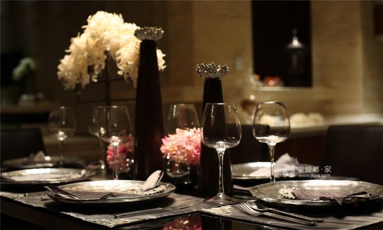 简单的新中式也可以很时尚-餐厅效果图及设计说明