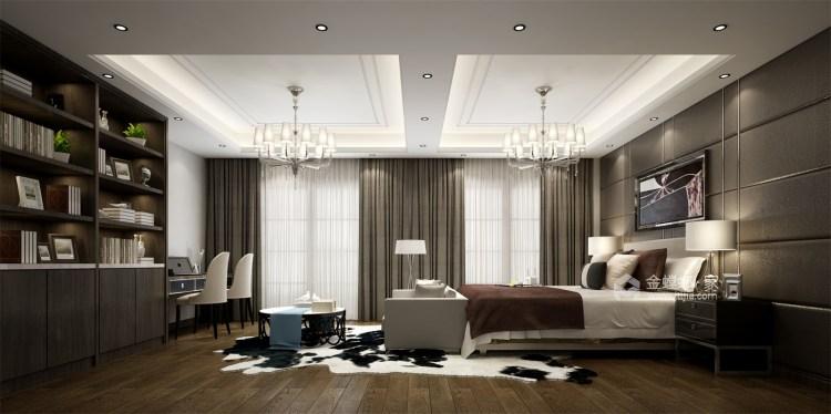 简单的新中式也可以很时尚-卧室效果图及设计说明