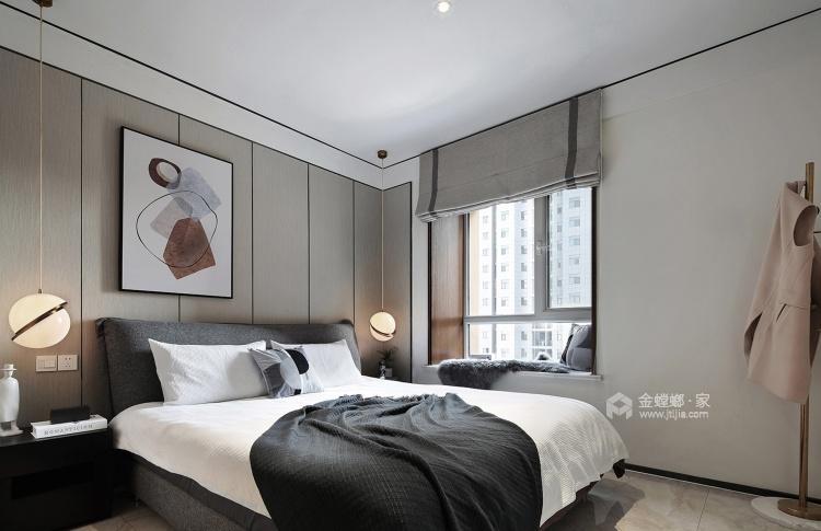 让人怦然心动的现代风-卧室效果图及设计说明