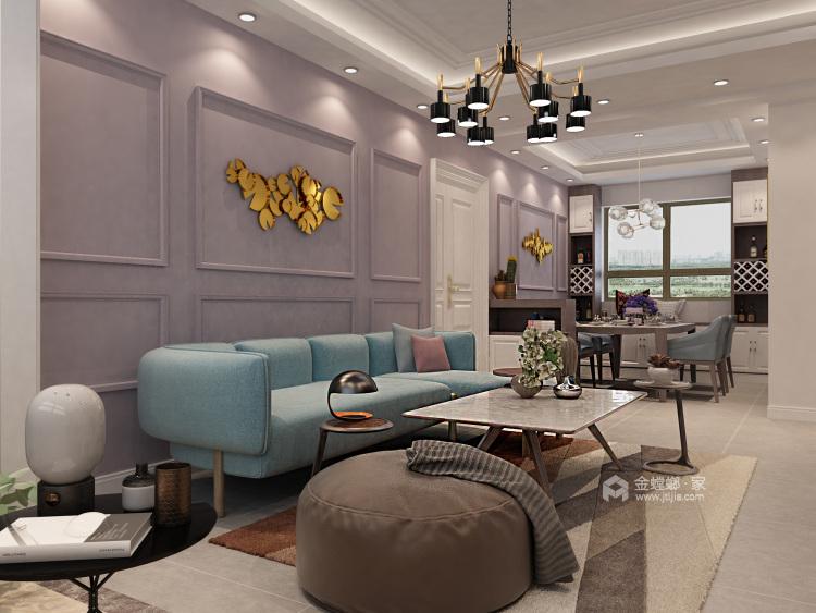 如何打造北欧风格局家空间?看一眼即爱上-客厅效果图及设计说明