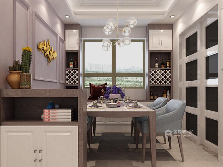 如何打造北欧风格局家空间?看一眼即爱上-餐厅效果图及设计说明