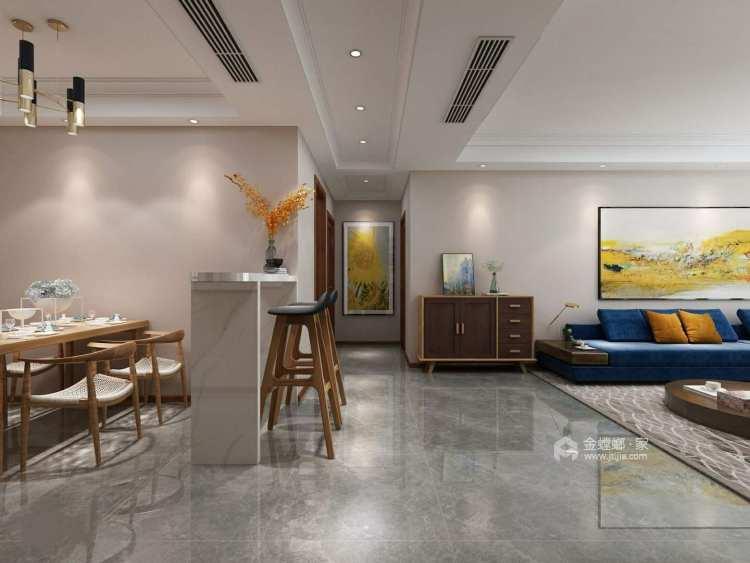 现代简约风 满足你对家的千万种幻想-餐厅效果图及设计说明