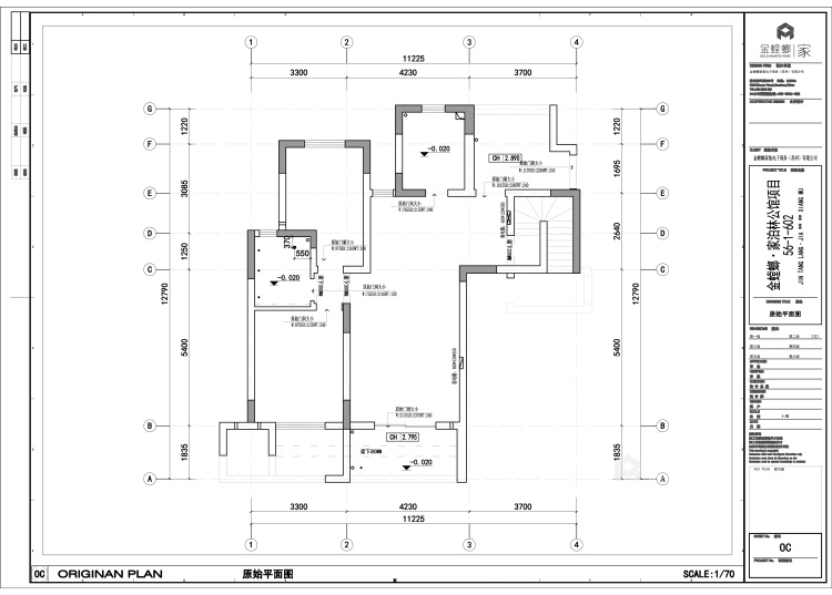 蓝色轻奢风爱好者,一定会喜欢这个家-平面设计图及设计说明