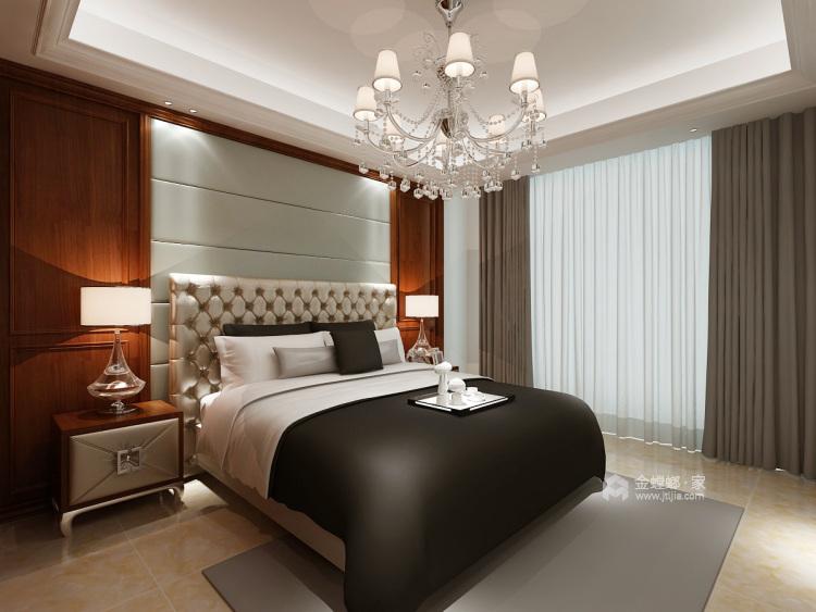 给爸妈新中式的家-卧室效果图及设计说明