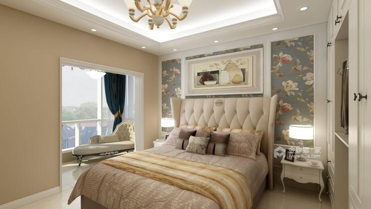 体现优雅和高贵,简欧式为不二选择-卧室效果图及设计说明