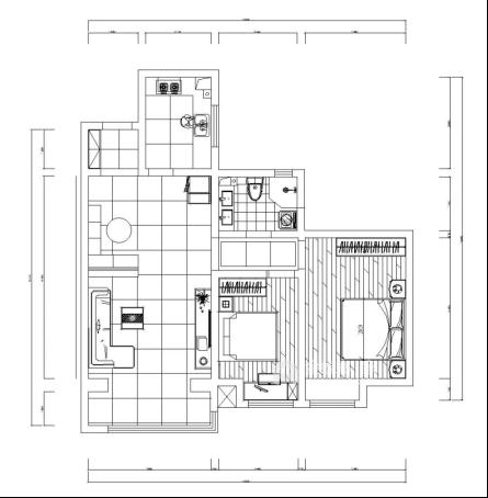 90平米气质美屋。温软又素雅-平面设计图及设计说明