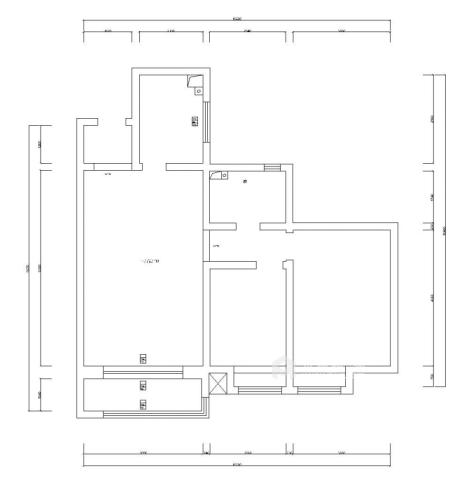 90平米气质美屋。温软又素雅-业主需求&原始结构图