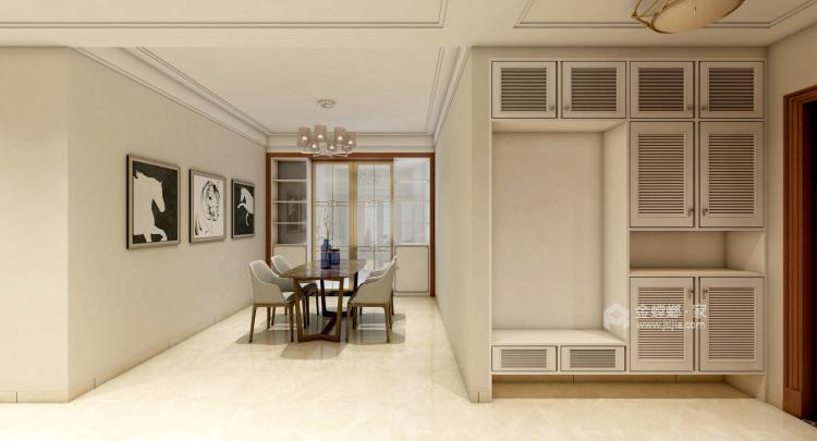 最爱中国风 160平米新中式生活-卧室效果图及设计说明