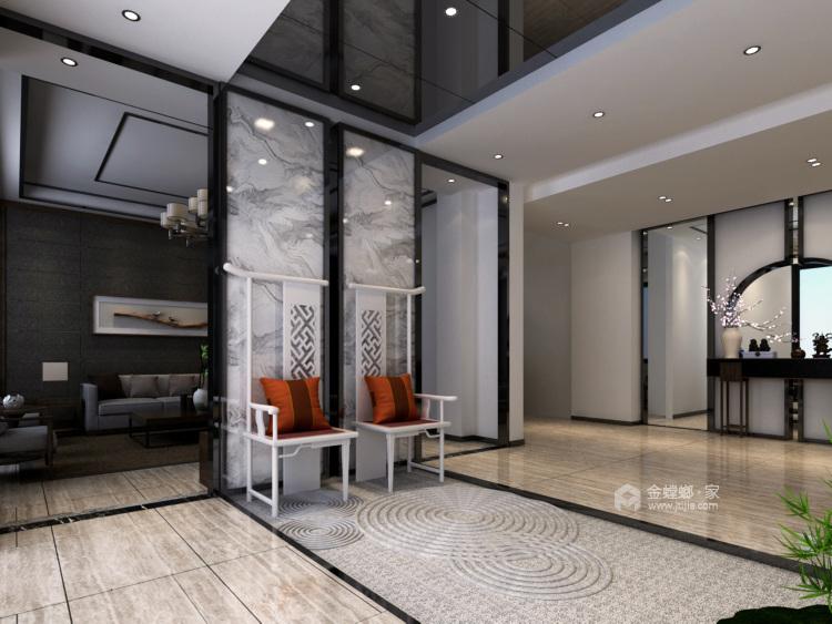 奢华大宅 260平米新中式风-平面设计图及设计说明