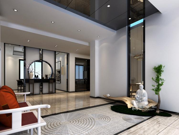 奢华大宅 260平米新中式风-业主需求&原始结构图