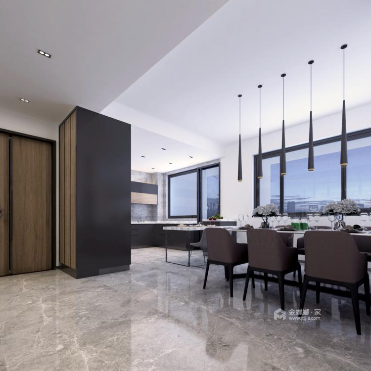 经典的现代主义生活 260平米现代大宅-平面设计图及设计说明
