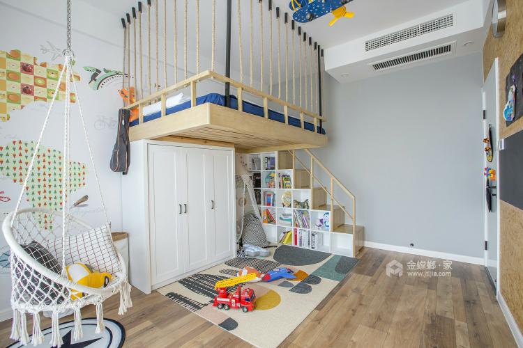 98㎡温馨小北欧 简单清新的惬意生活-儿童房