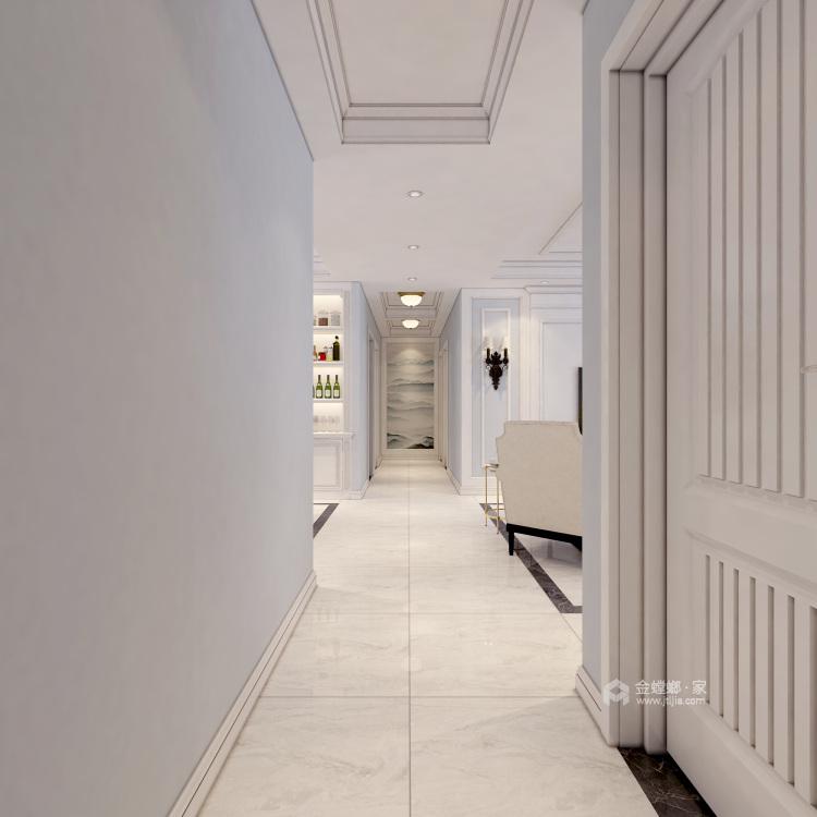 超大海景房搭配简约美式,美!-卧室效果图及设计说明