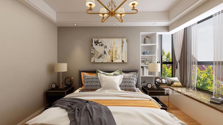 138平現代港式輕奢風格,明快時尚-臥室效果圖及設計說明