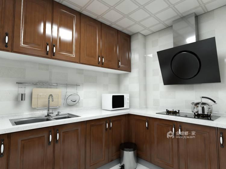 黑白灰打造意境新中式,沉靜之美-廚房