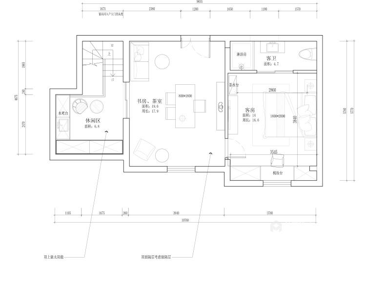 208平現代風格美家,簡潔舒適溫馨-平面設計圖及設計說明