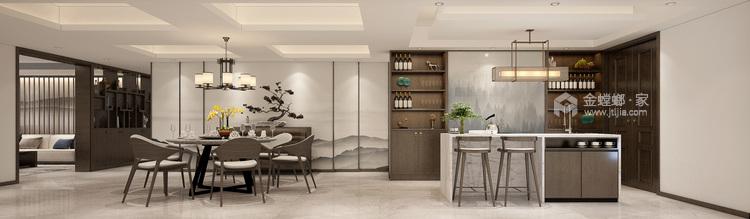 巧妙的色彩搭配打造高品质现代风-客厅效果图及设计说明