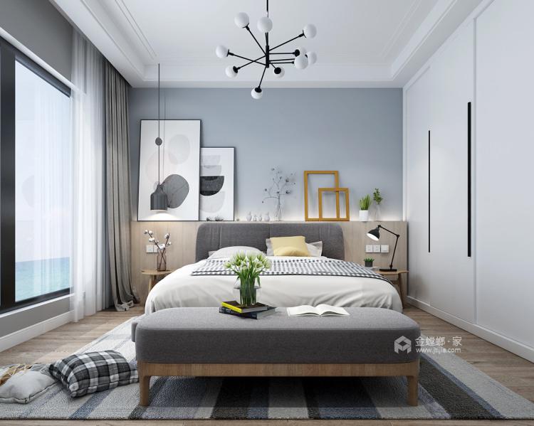 清爽北歐風,淺色系的家居如夢之旅-臥室效果圖及設計說明