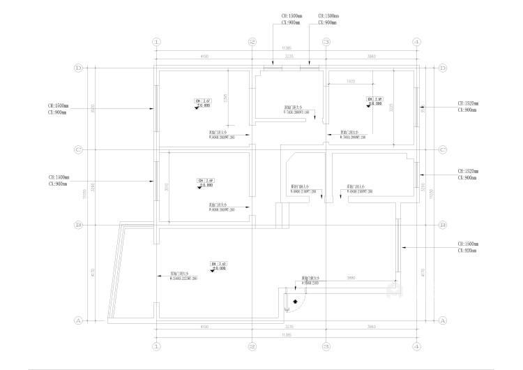 簡潔優雅現代風,靜謐舒適-業主需求&原始結構圖