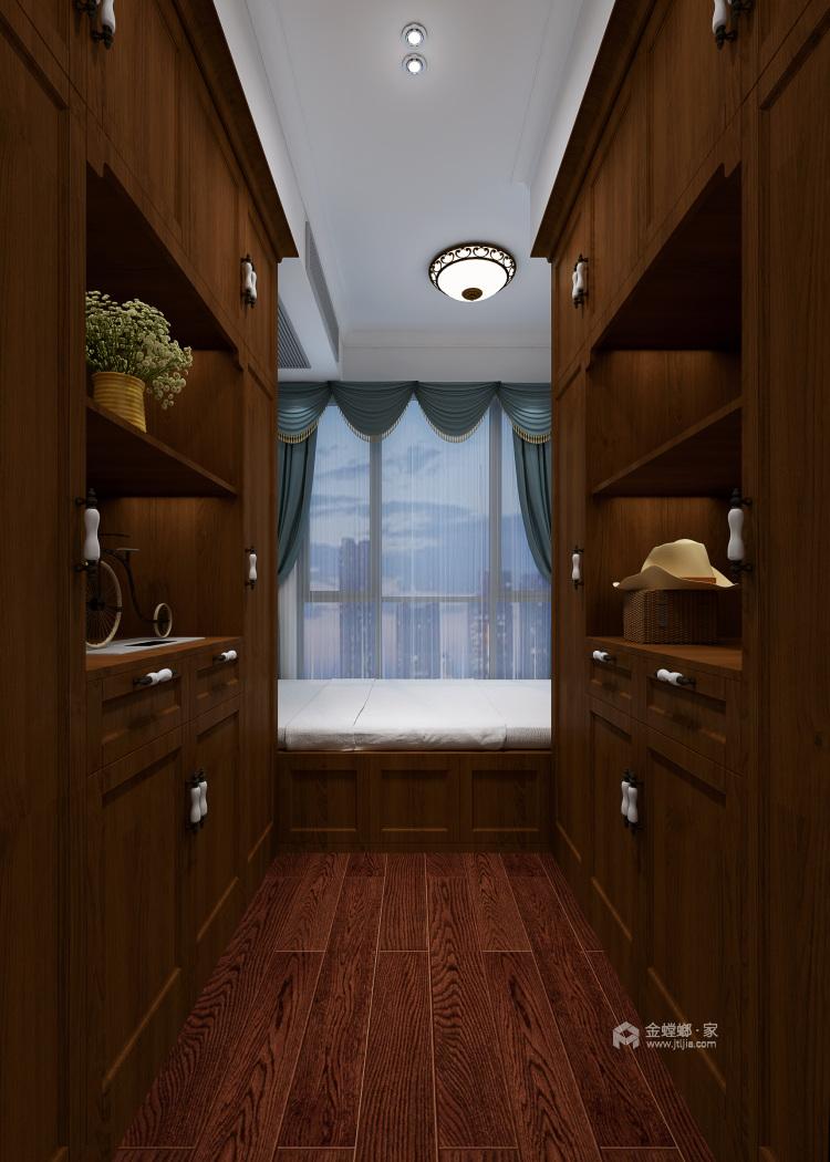 鶴城橡樹灣91平美式風格,大氣之美-老人房